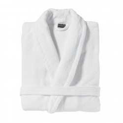 Bathrobe shawl collar L