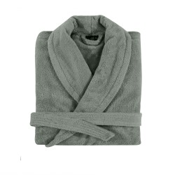 Bathrobe shawl collar M