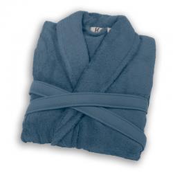 Bathrobe shawl collar...